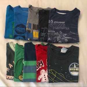Other - Bundle of 10 t-shirts size XS 4-5